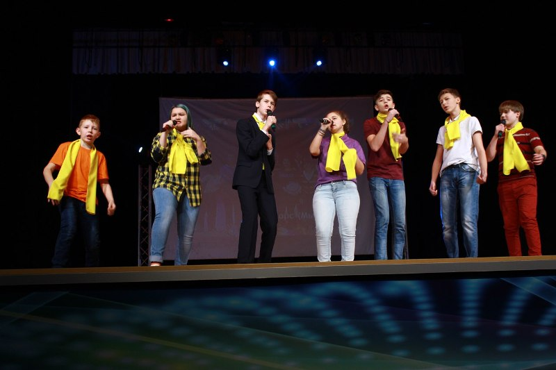 Мысковские КВНщики выступили в 13 сезоне молодежной Студёной лиги КВН