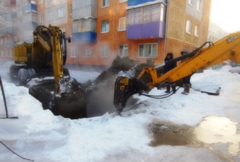 Авария на водоводе произошла в Мысках