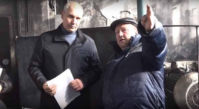 Глава Мысков провел рабочее заседание городского штаба на котельной в поселке Ключевой