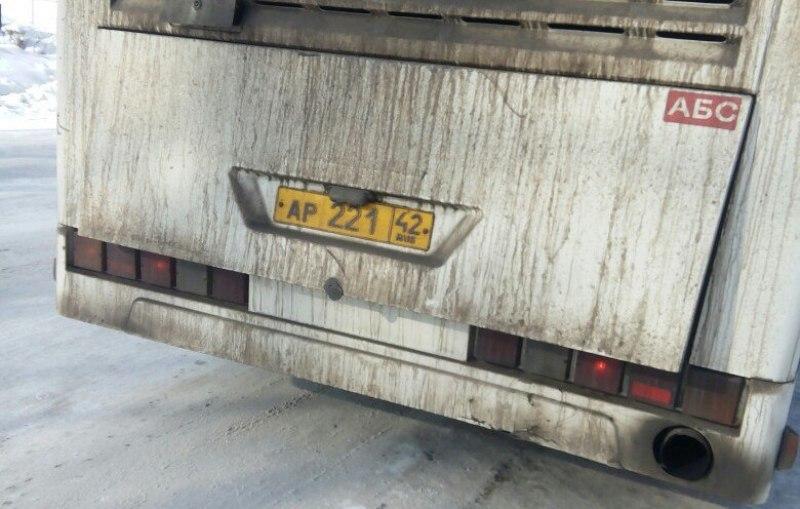 В Мысках жители возмущены поведением водителя рейсового автобуса №1