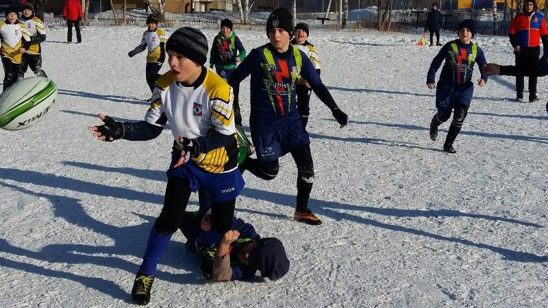 Регбисты Мысков заняли призовое место на соревнованиях в Прокопьевске