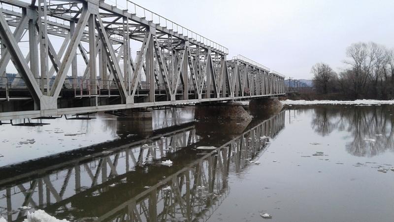 Затор на реке Мрас-Су ликвидирован