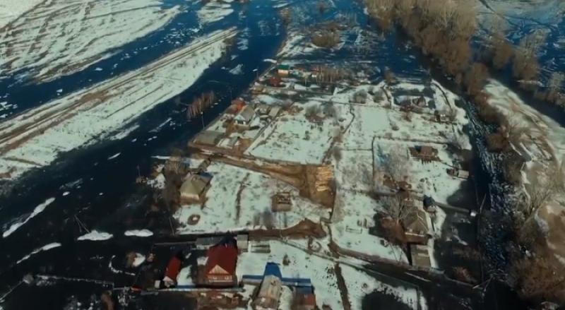 В Мысках из поселка Усть-Мрас эвакуировали жителей
