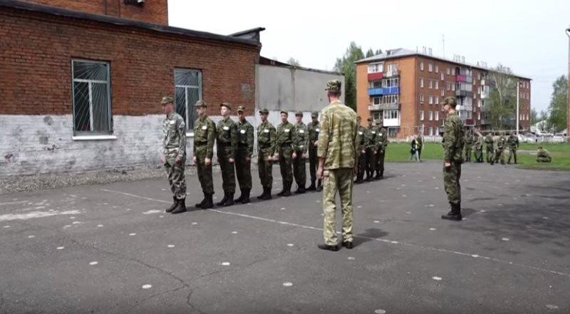 В Мысках проходят военно-полевые сборы для юношей