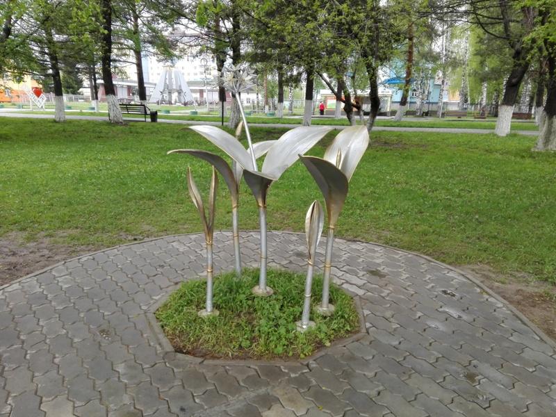 Скульптурная композиция «Колба» открылась в Мысках