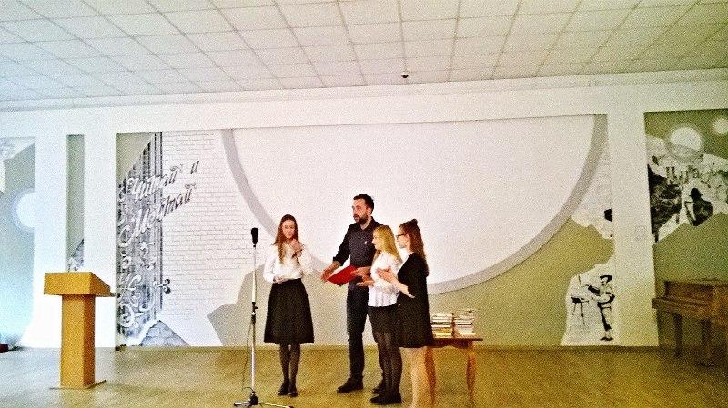 Мысковчанка вышла в финал областного этапа Чемпионата России по чтению вслух среди старшеклассников «Страница 18»