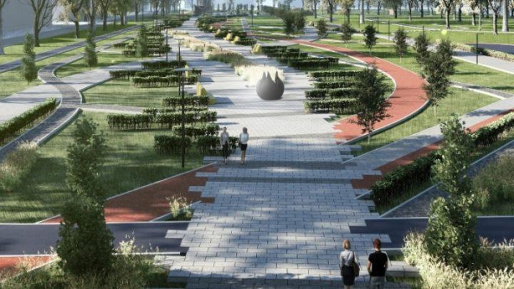 В микрорайоне ГРЭС появится новый парк «Вокзальный»