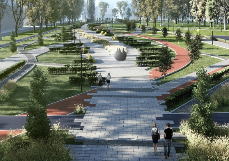 Мыски подали заявку на участие во Всероссийском конкурсе по благоустройству парка «Вокзальный»