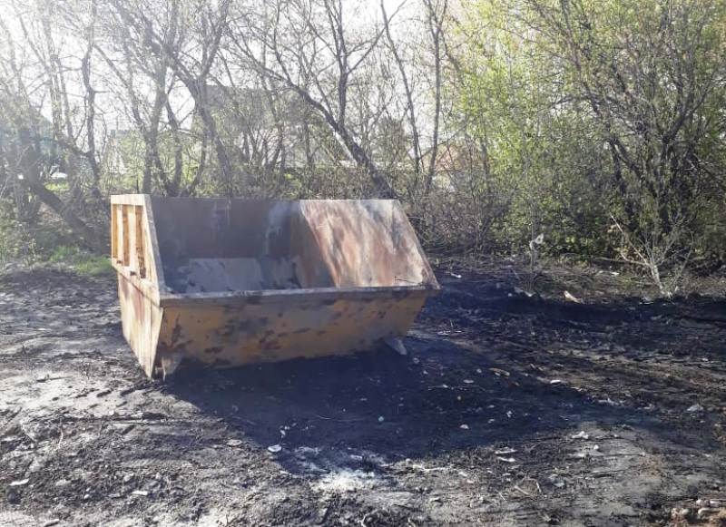 Мусорная свалка на улице Тургенева ликвидирована