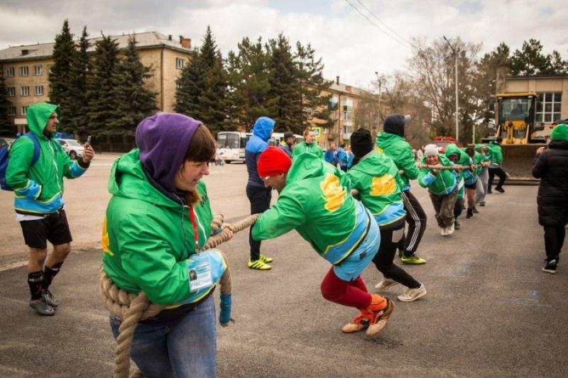 Мысковские предприниматели приняли участие в III областной летней спартакиаде