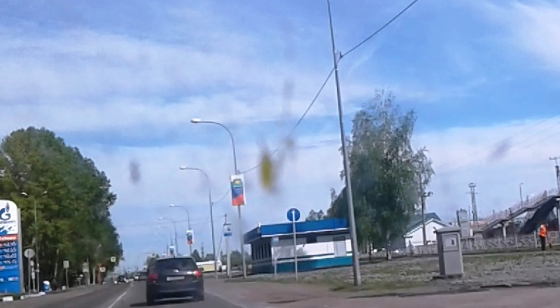 В Мысках установили новую камеру видеофиксаций нарушений ПДД