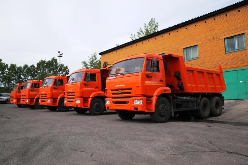 «Южный Кузбасс» приобрел «КамАЗы» для обслуживания обогатительных фабрик