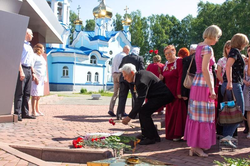 В Мысках почтили память, погибших в годы Великой Отечественной войны
