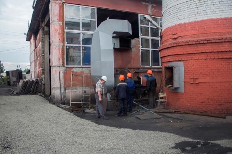 Реконструкция котельной в поселке Ключевой идет полным ходом