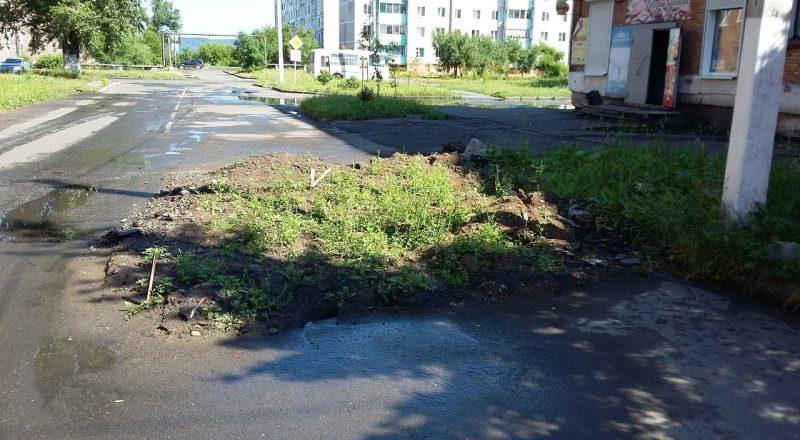 В Мысках жители поселка Ключевой страдают от отсутствия благоустройства