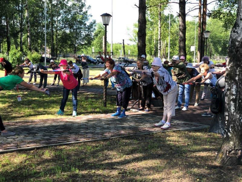 В парке «Юбилейный» пройдет фестиваль «Скандинавская ходьба для всех»