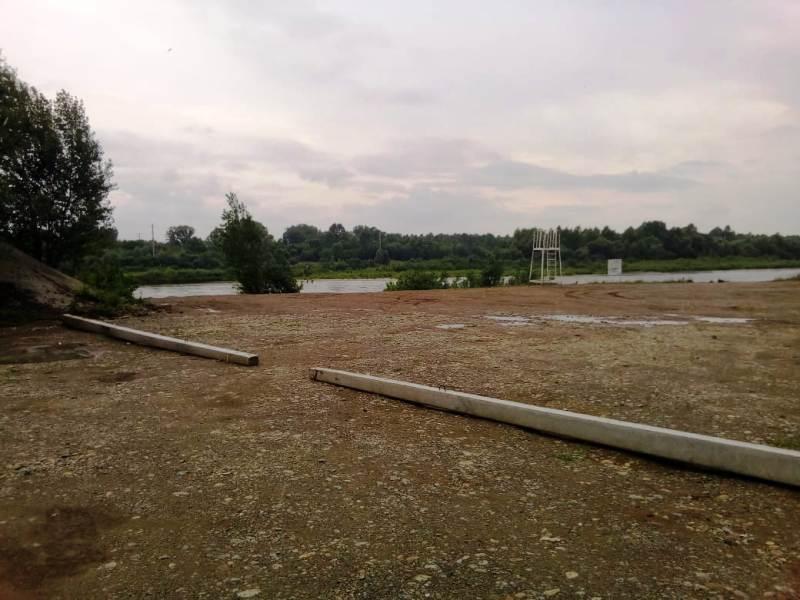 Восстановительные работы в месте отдыха у воды «Тополек» продолжаются