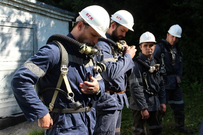В «Южном Кузбассе» определили лучших горноспасателей
