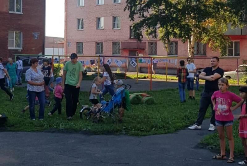 В поселке Ключевой состоялся Праздник двора
