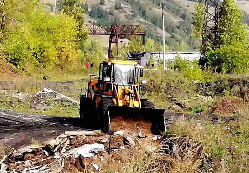 Сотрудники Южно-Кузбасской ГРЭС приняли участие в общегородской экологической акции «Генеральная уборка страны»