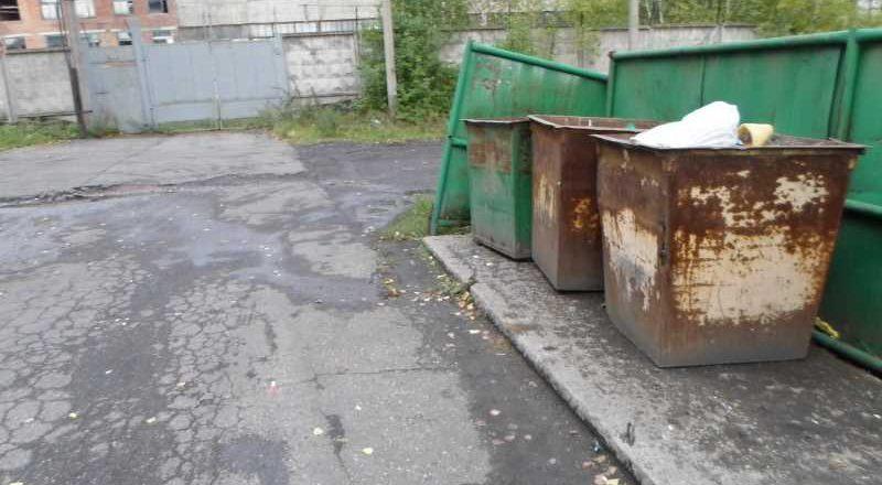 Решено. Площадка около мусорных баков по улице Центральная, 59 очищена