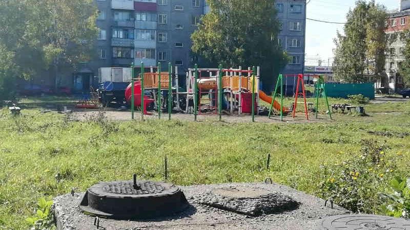 С чем связан перенос детского городка на 17 квартале?