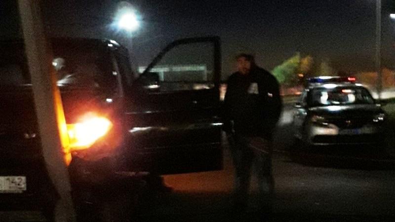 В микрорайоне ГРЭС произошло ДТП с участием УАЗа, фонарного столба и невидимки