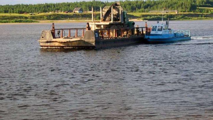 В Мысках прекращена паромная переправа через реку Томь в поселки Тутуяс и Усть-Мрас