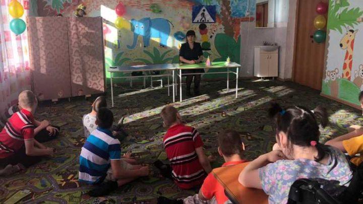 Сотрудники ГИБДД посетили Мысковский детский дом-интернат