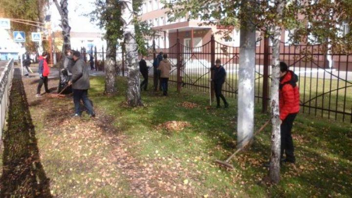 1100 мысковчан вышли на уборку города в рамках акции «Кузбасс в порядке»
