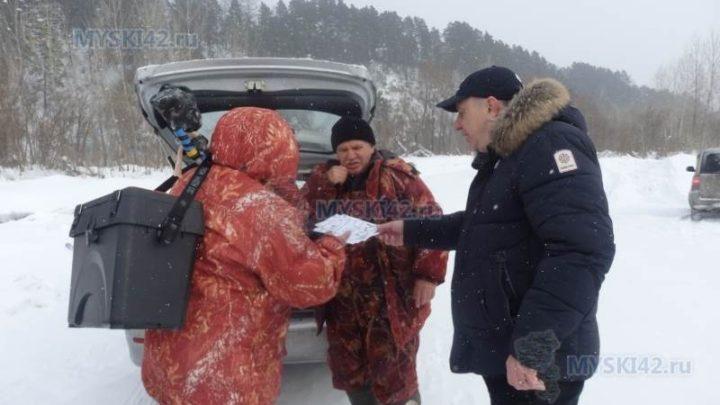 В Мысках проводится профилактическая акция «Безопасный лед»