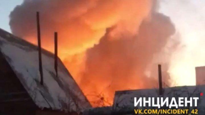 Очередной пожар в Кузбассе. Погибли дети