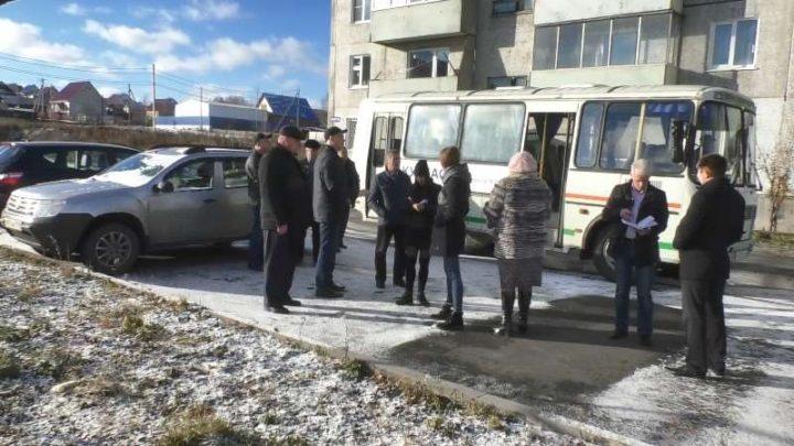 Объезд территорий администрацией Мысков прошел на п.Ключевой и п.Шоферской