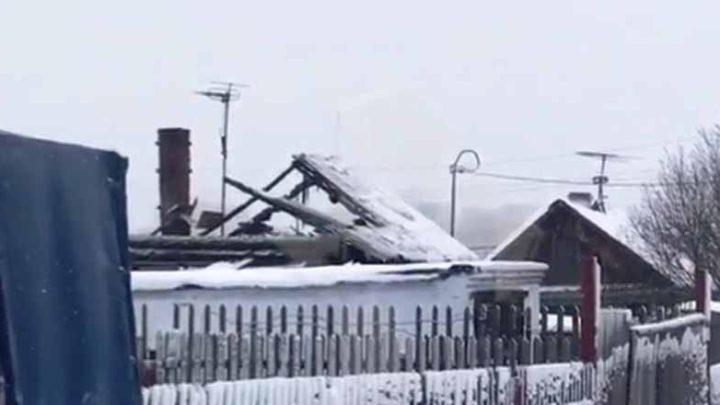 В Кузбассе на пожаре погибло шестеро детей