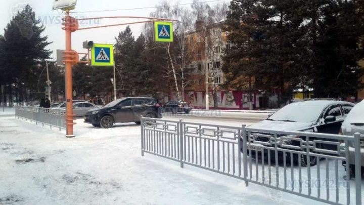 В Мысках на улице Советской стало безопаснее