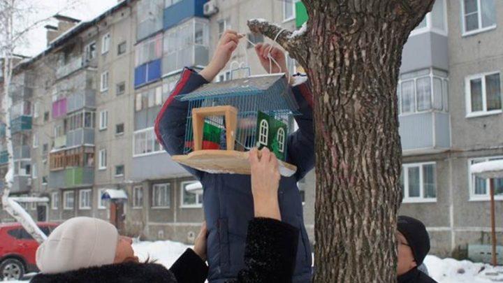 В заповеднике «Кузнецкий Алатау» стартовала акция «Поможем птицам зимой – 2018»