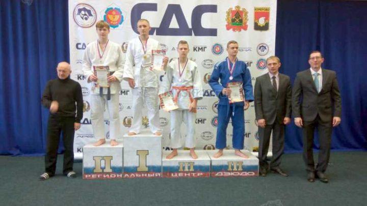 Мысковские дзюдоисты заняли призовые места на первенстве Ассоциации клубов дзюдо Кузбасса