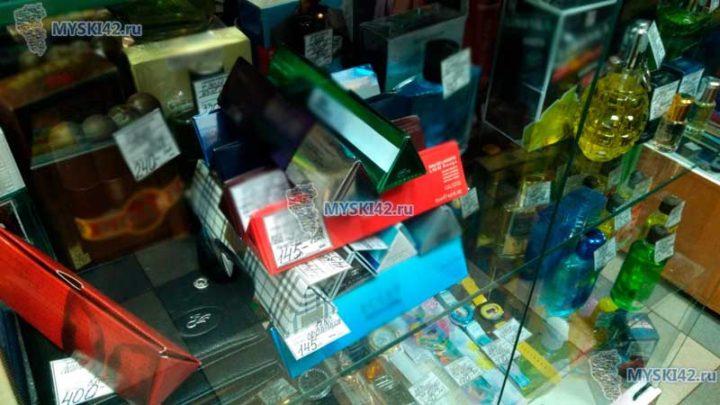 В Мысках предприниматель торговал контрафактной парфюмерией