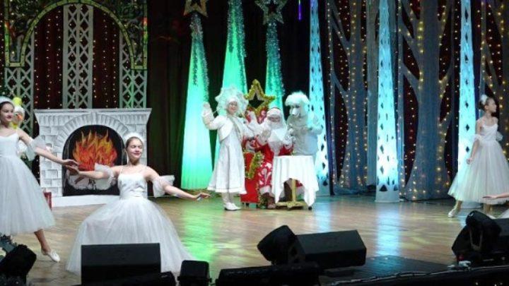 В Городском центр культуры Мысков прошла муниципальная ёлка