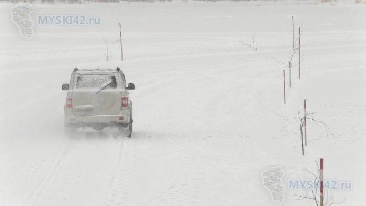 Автомобильная ледовая переправа до поселков Тутуяс и Усть-Мрас открыта