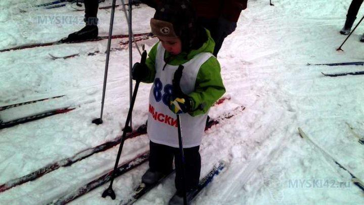 В Мысках состоялось открытие спортивного сезона по лыжным гонкам