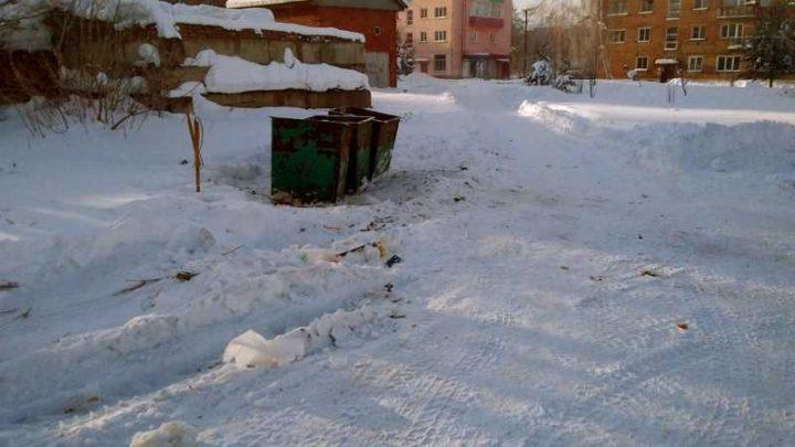 Мусорная свалка на 8 квартале в поселке Ключевой ликвидирована