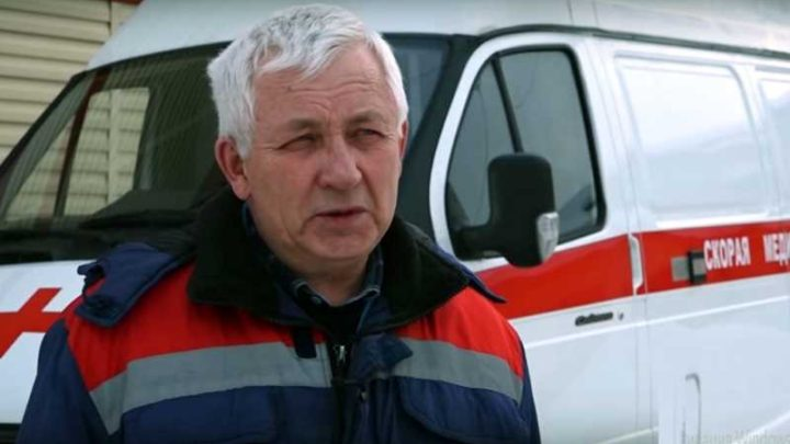 В Мысках показали на каких автомобилях скорой помощи доставляются пациенты