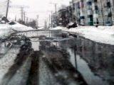 Улица Кузбасская «плавала» из-за аварии на сетях холодного водоснабжения