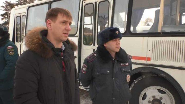 В Мысках представители власти провели очередной объезд городских территорий
