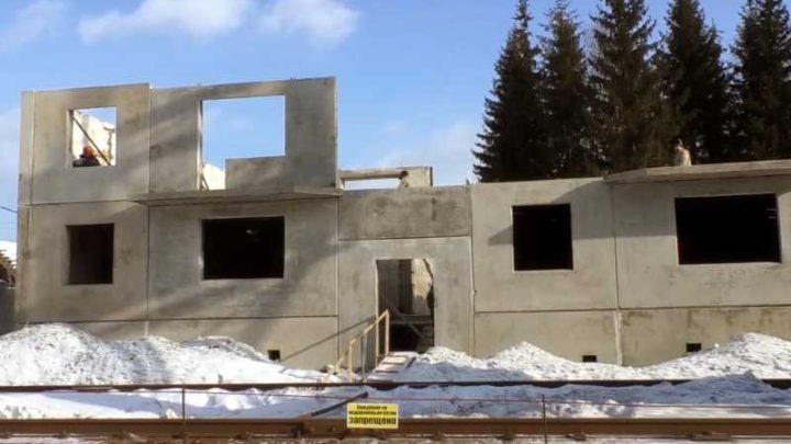 В Мысках озвучили сроки сдачи многоквартирного жилого дома на улице Горького