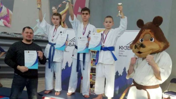 Мысковские каратисты стали призерами турнира «Кузнецкий медвежонок 2019»