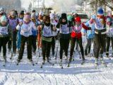 «Лыжня России» впервые в Мысках собрала около 400 лыжников