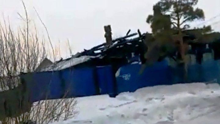 ЧП в Мариинске: на пожаре  погибли дети и взрослые