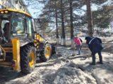 В Мысках прошел массовый субботник, в рамках акции «Кузбасс в порядке!»